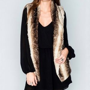 Show Me Your MuMu Fausta Faux Fur Vest Mrs. Fawn